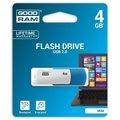 Obrázok pre výrobcu GOODDRIVE 4GB USB kľúč COLOUR MIX Modro-biela