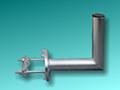 Obrázok pre výrobcu Anténní držák na stožár 20 cm (v.16cm)