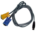 Obrázok pre výrobcu Micronet 3-in-1 USB KVM Cable C200L-3 , 3m