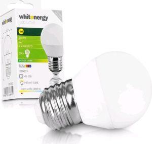 Obrázok pre výrobcu Whitenergy LED žiarovka | E27 | 3 SMD 2835 | 3W | 230V| mlieko | B45