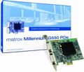 Obrázok pre výrobcu MATROX Millennium G550 32MB DDR PCI Express 1x