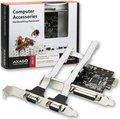 Obrázok pre výrobcu AXAGO PCI-Express adapter 1x paralel + 2x sér.+ LP