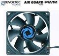 """Obrázok pre výrobcu Revoltec ventilátor """"AirGuard PWM"""", 80x80x25mm"""