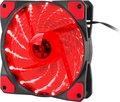 Obrázok pre výrobcu Ventilátor Genesis Hydrion 120, červené LED, 120mm