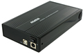 """Obrázok pre výrobcu 4World Hliníkové puzdro na jednotky HDD 3.5"""" SATA, farba čierna"""