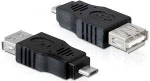 Obrázok pre výrobcu Delock Adapter USB micro-B samec > USB 2.0-A samice OTG