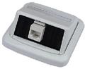 Obrázok pre výrobcu Jednozásuvka ABB TANGO 1xRJ45 cat.6, UTP bílá