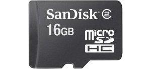 Obrázok pre výrobcu Sandisk karta microSDHC 16GB