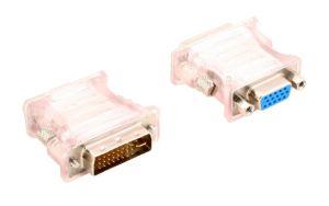 Obrázok pre výrobcu redukcia DVI-I - VGA adaptér