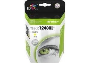 Obrázok pre výrobcu Ink. kazeta TB kompat. s Brother LC1240Y 100% new