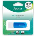 Obrázok pre výrobcu Apacer USB flash disk, 2.0, 32GB, AH23A, modrý, modrá, AP32GAH23AW-1, s vysuvným konektorom a očkom na pútko