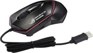 Obrázok pre výrobcu ASUS MOUSE Eagle Eye GX1000 laser gaming black - laserová drôtová myš;  čierna