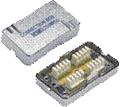 Obrázok pre výrobcu Spojovací BOX STP CAT.6 (2* zářez. pole) Silver
