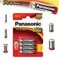 Obrázok pre výrobcu Alkalická baterie AAA Panasonic Pro Power LR03 4ks