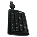 Obrázok pre výrobcu 4World Numerická klávesnica na USB super mini, US, s navíjateľným káblom
