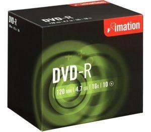 Obrázok pre výrobcu Imation DVD-R 4.7GB 16x, BOX, 1ks