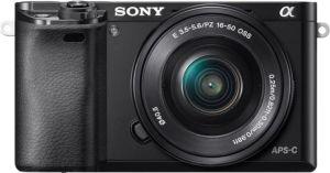 Obrázok pre výrobcu SONY ILCE-6000 Fotoaparát Alfa 6000 s bajonetem E + 16-50mm objektiv - Black