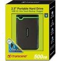"""Obrázok pre výrobcu Transcend StoreJet 25M3 500GB HDD 2.5"""" USB 3.0, SW Elite, anti-shock, čierny"""