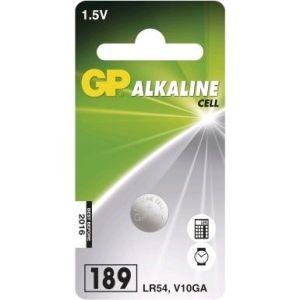 Obrázok pre výrobcu Alkalická knoflíková baterie GP LR54 (189)