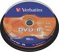 Obrázok pre výrobcu Verbatim DVD-R 4,7GB 16X 10ks/spindel