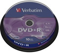 Obrázok pre výrobcu Verbatim DVD+R(10-Pack)Spindle/General Retail/16x/4.7GB