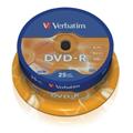 Obrázok pre výrobcu Verbatim DVD-R (25-Pack)Spindle/General Retail/16x/4.7GB