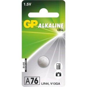 Obrázok pre výrobcu GP LR44 (A76, 11.6 x 5.4 mm) - 1 ks