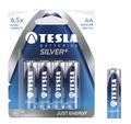 Obrázok pre výrobcu TESLA - baterie AA SILVER+, 4ks, LR06
