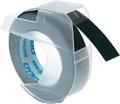 Obrázok pre výrobcu Dymo originál páska do tlačiarne štítkov, Dymo, S0898130, čierny podklad, 3m, 9mm, balené po 10 ks, cena za 1 ks, 3D