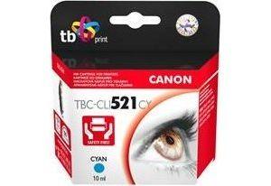 Obrázok pre výrobcu Ink. kazeta TB kompat. s Canon CLI-521C 100% new
