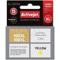 Obrázok pre výrobcu Atrament ActiveJet AL-100Y | Yellow | 13 ml | Lexmark 14N1071E