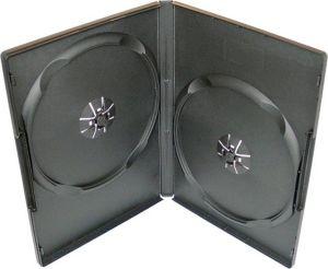 Obrázok pre výrobcu Box na 2 DVD, 14mm, čierny A-kvalita. 1ks.