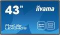 """Obrázok pre výrobcu 43"""" LCD iiyama ProLite LE4340S-B1 -FullHD,AMVA, 8ms, 350cd, USB 2.0 media player, RJ45, RS232C,repro"""