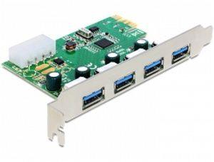 Obrázok pre výrobcu Delock PCI Express Karta > 4 x USB 3.0