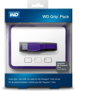 Obrázok pre výrobcu WD Grip rámeček, MP Ultra 2-3TB, fialová