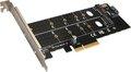 Obrázok pre výrobcu EVOLVEO NVME & M.2 SSD PCIe, rozšiřující karta