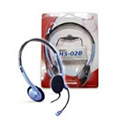 Obrázok pre výrobcu Genius headset HS-02B (stereo sluchátka + mikrofon)