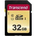 Obrázok pre výrobcu Transcend 32GB SDHC 500S (Class 10) UHS-I U1 (Ultimate) MLC paměťová karta, 95 MB/s R, 60 MB/s W