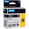 Obrázok pre výrobcu Dymo originál páska do tlačiarne štítkov, Dymo, 1805436, biely tlač/čierny podklad, 5,5m, 19mm, RHINO vinylová profi D1
