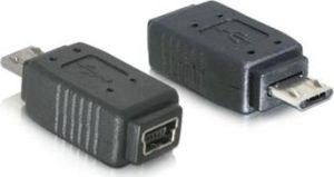 Obrázok pre výrobcu DeLock redukcia micro USB B samec na USB mini 5pin samica