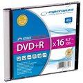 Obrázok pre výrobcu Esperanza DVD+R [ slim jewel case 1 | 4.7GB | 16x ] - kartón 200 ks
