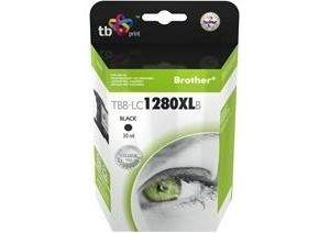 Obrázok pre výrobcu Ink. kazeta TB kompat. s Brother LC 1280XL B 100%N