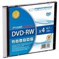 Obrázok pre výrobcu Esperanza DVD-RW [ slim jewel case 1 | 4.7GB | 4x ] - kartón 200 ks