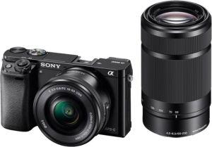 Obrázok pre výrobcu Sony A6000Y, 16-50+55-210mm, 24,3Mpix, černý
