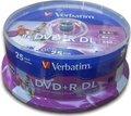 Obrázok pre výrobcu Verbatim DVD+R(25-pack)DoubleLayer/InkjetPrintabl/8x/8,5GB