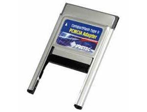 Obrázok pre výrobcu PCMCIA CompactFlash II adapter Pretec