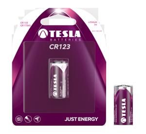 Obrázok pre výrobcu TESLA - baterie TESLA CR123, 1ks, CR17345