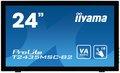 """Obrázok pre výrobcu 24"""" LCD iiyama T2435MSC-B2 - 6ms,250cd/m2,DVI,HDMI, DP,USB,multidotek,kapacitní,kamera+mikrofon"""