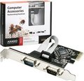 Obrázok pre výrobcu AXAGO PCI-Express adapter 2x sériový port + LP