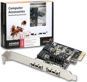 Obrázok pre výrobcu AXAGO PCIe řadič 2x int./ext. SATA III 6G ASMedia